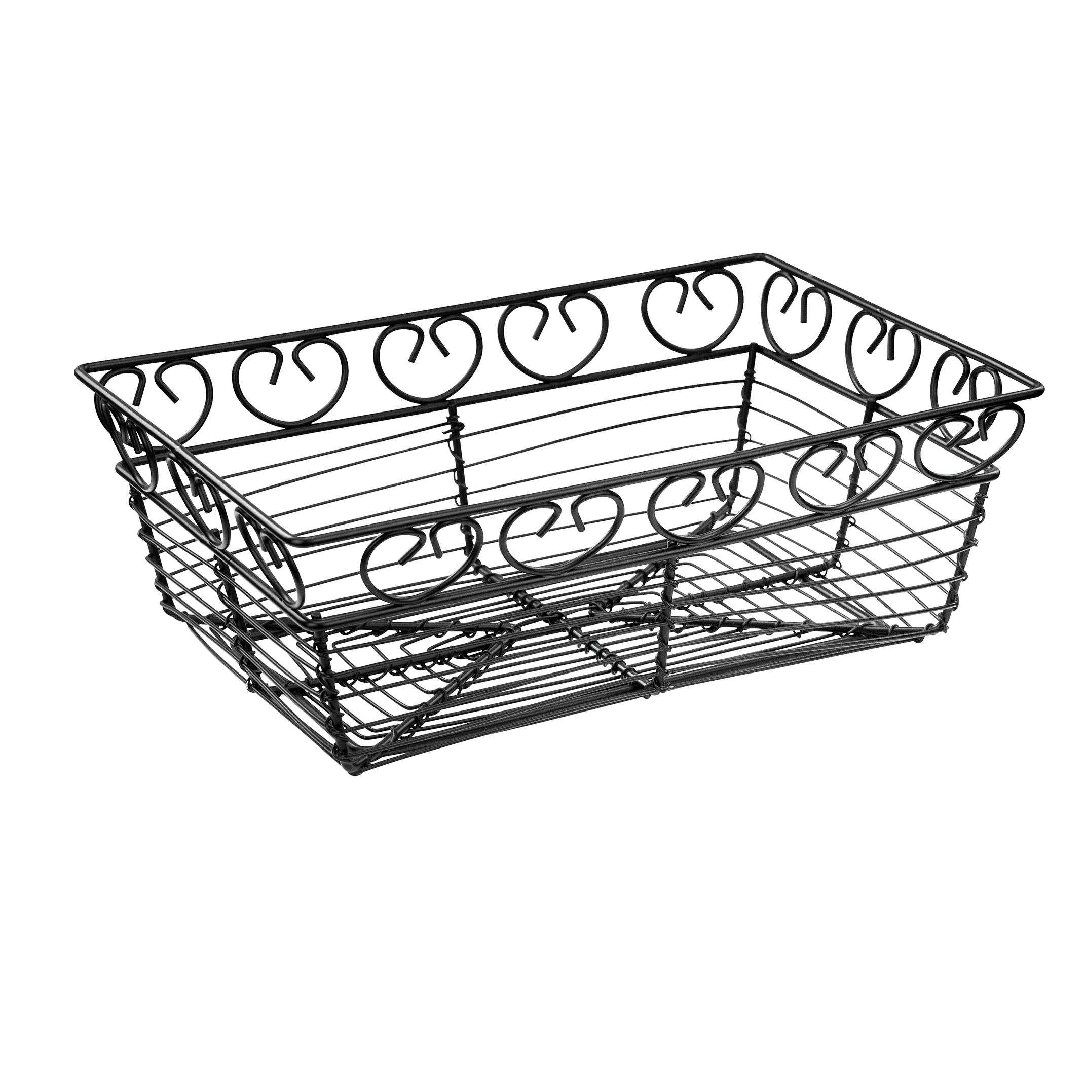 Winco WBKG-9 basket, tabletop, metal