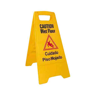 3700-189 Winco WCS-25 sign, wet floor