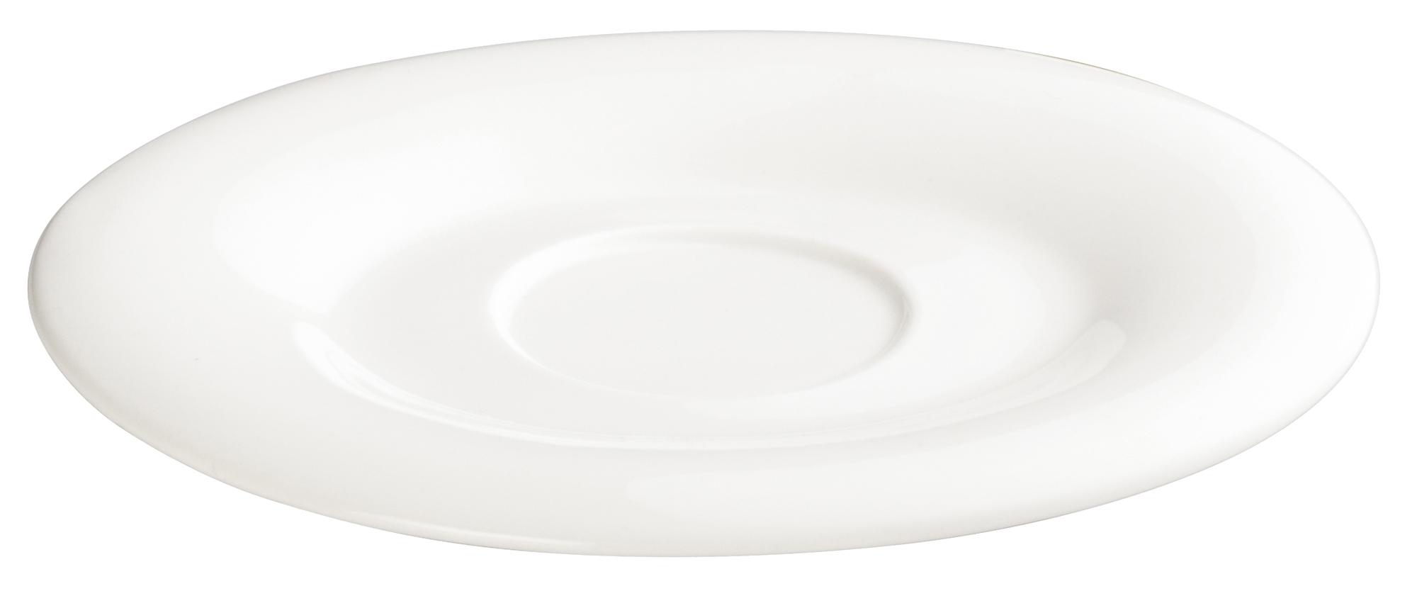 Winco WDP004-215 saucer, china