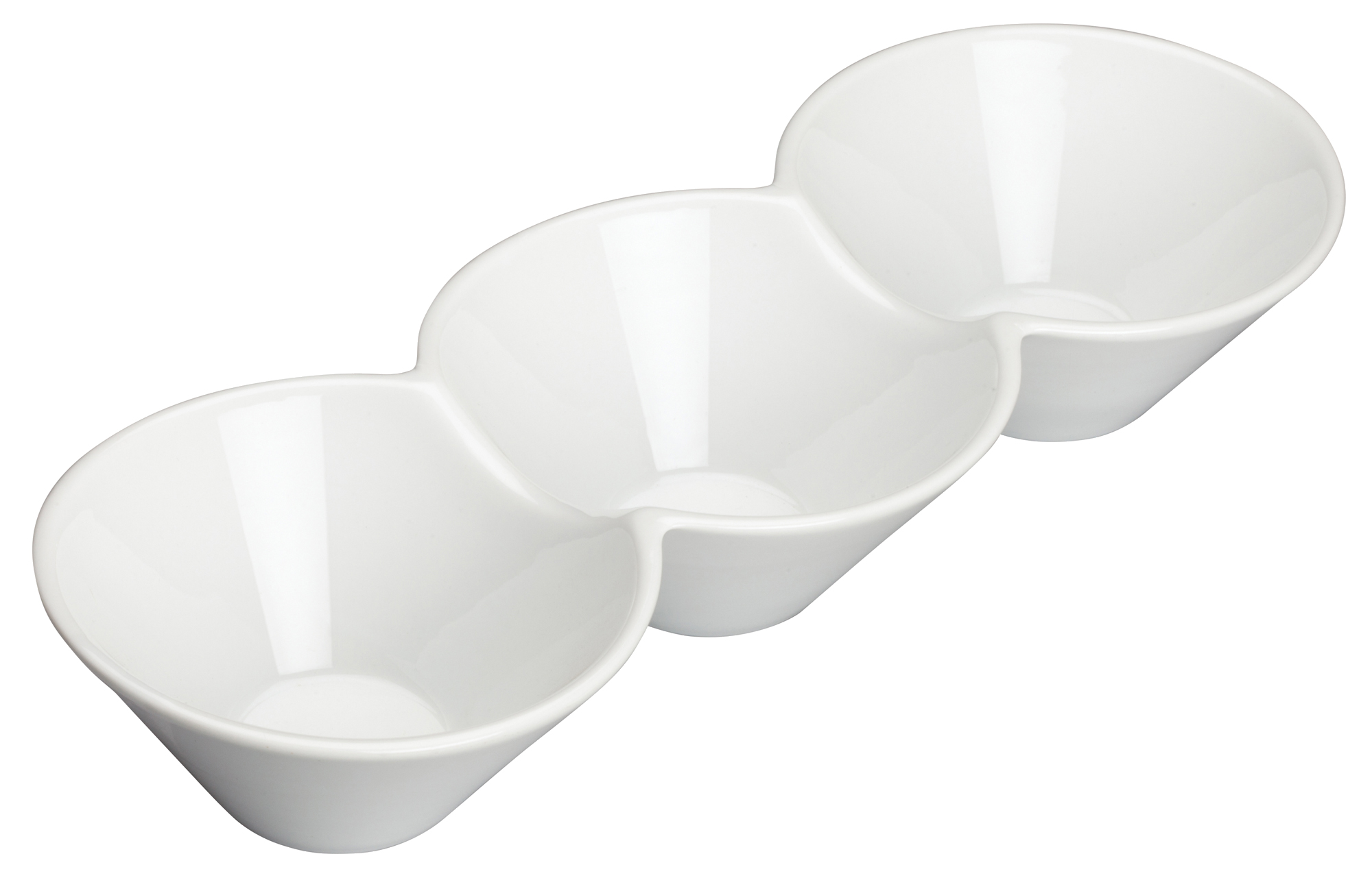 Winco WDP017-102 china, compartment dish bowl