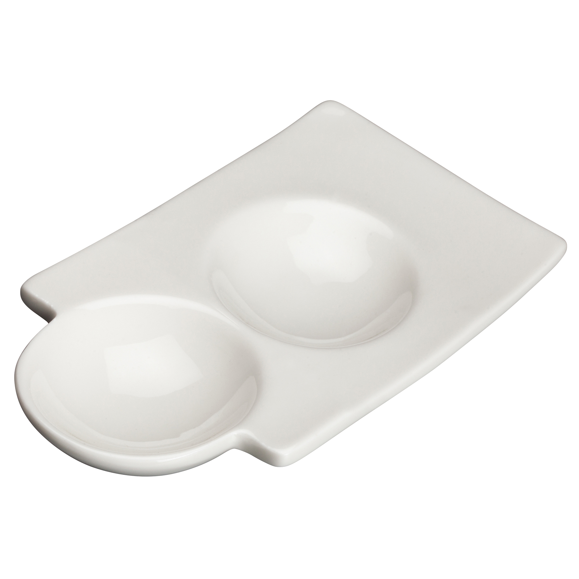 Winco WDP017-106 china, compartment dish bowl
