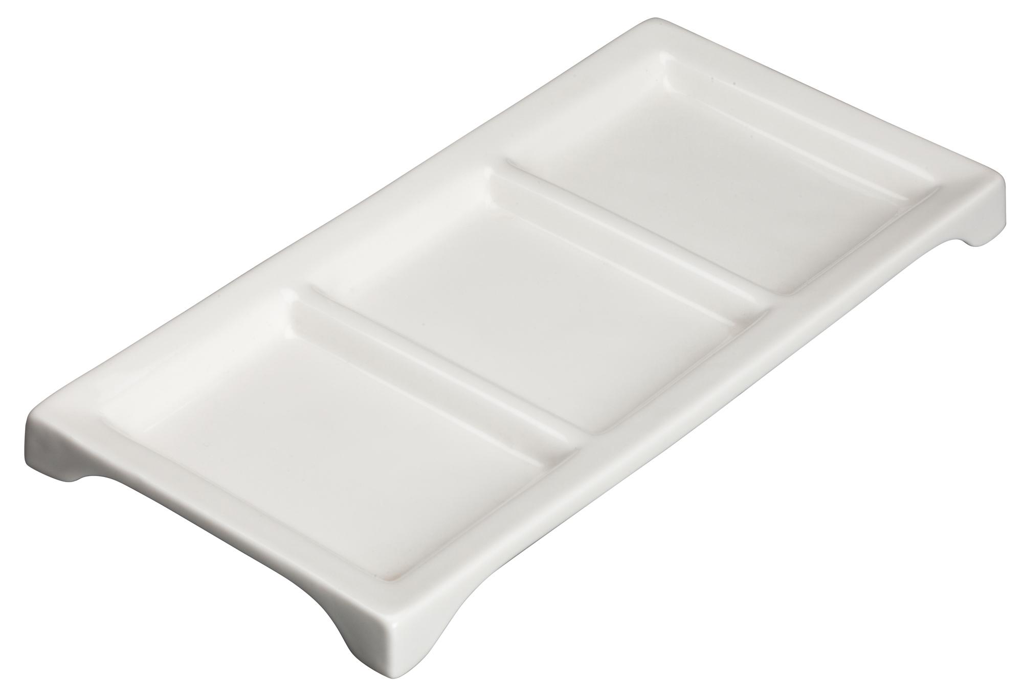 Winco WDP017-108 tray, compartment, china