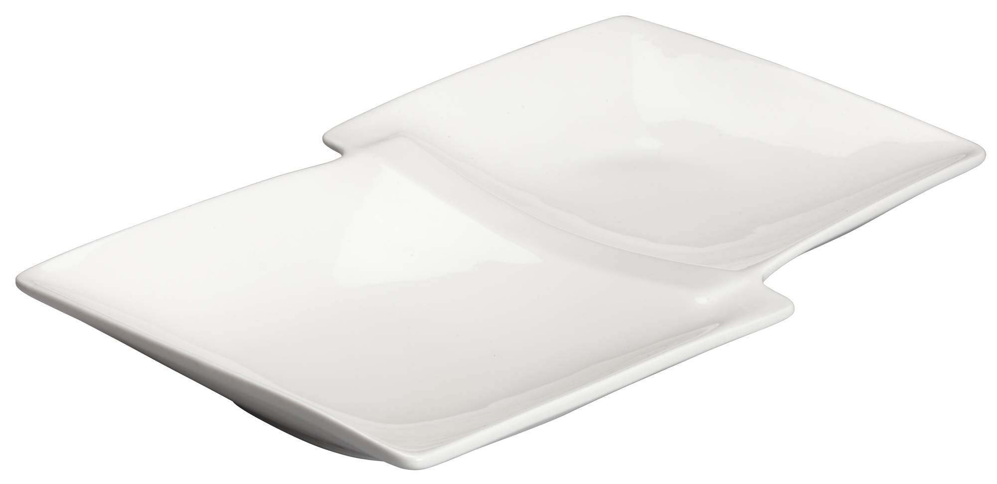 Winco WDP017-109 plate/platter, compartment, china