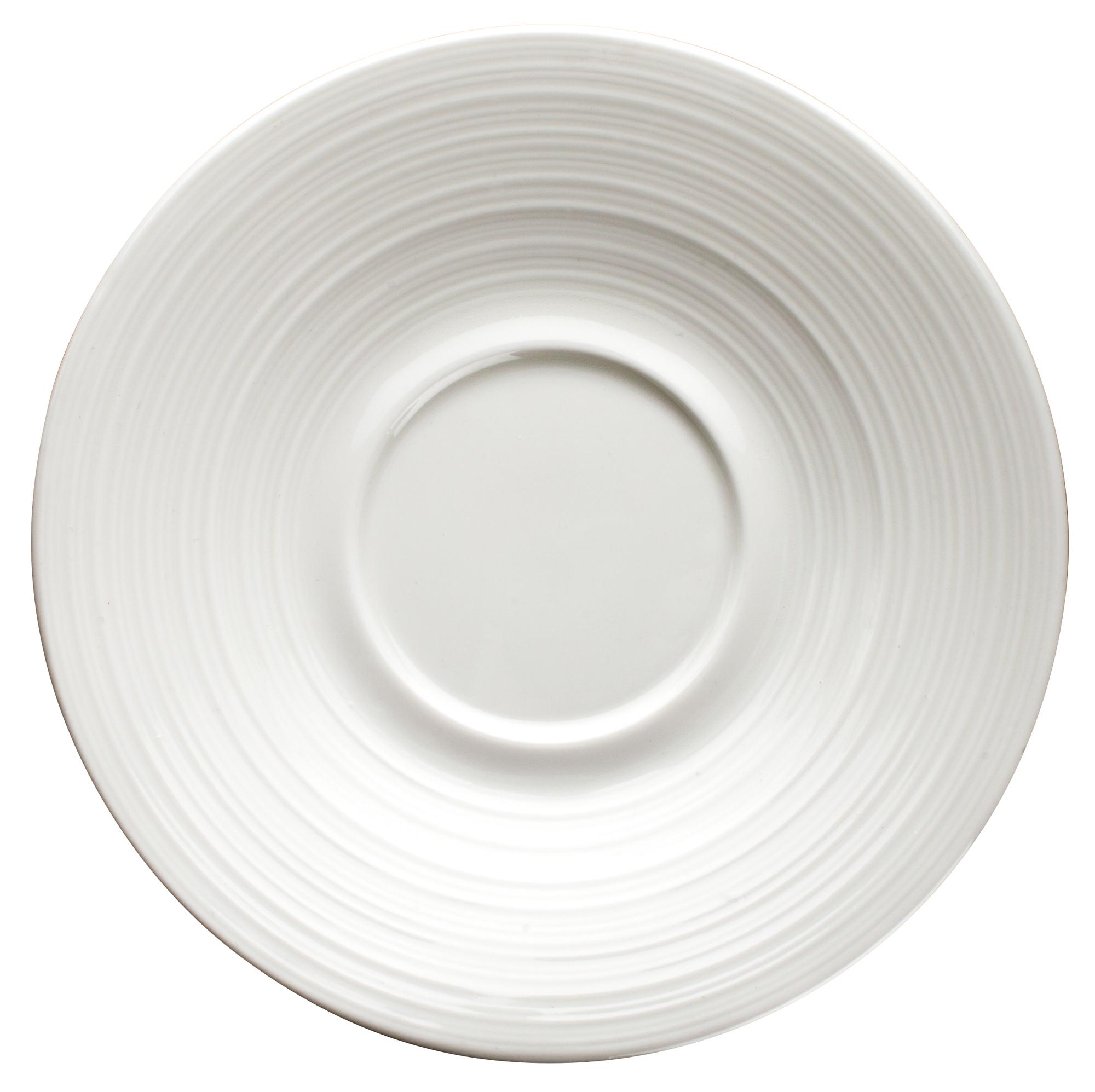 Winco WDP022-112 saucer, china