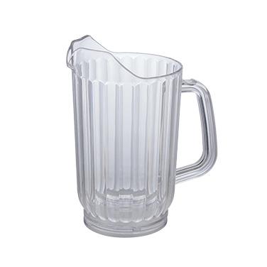 Winco WPC-48 pitcher, plastic