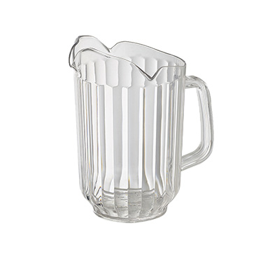 Winco WPCT-60C pitcher, plastic