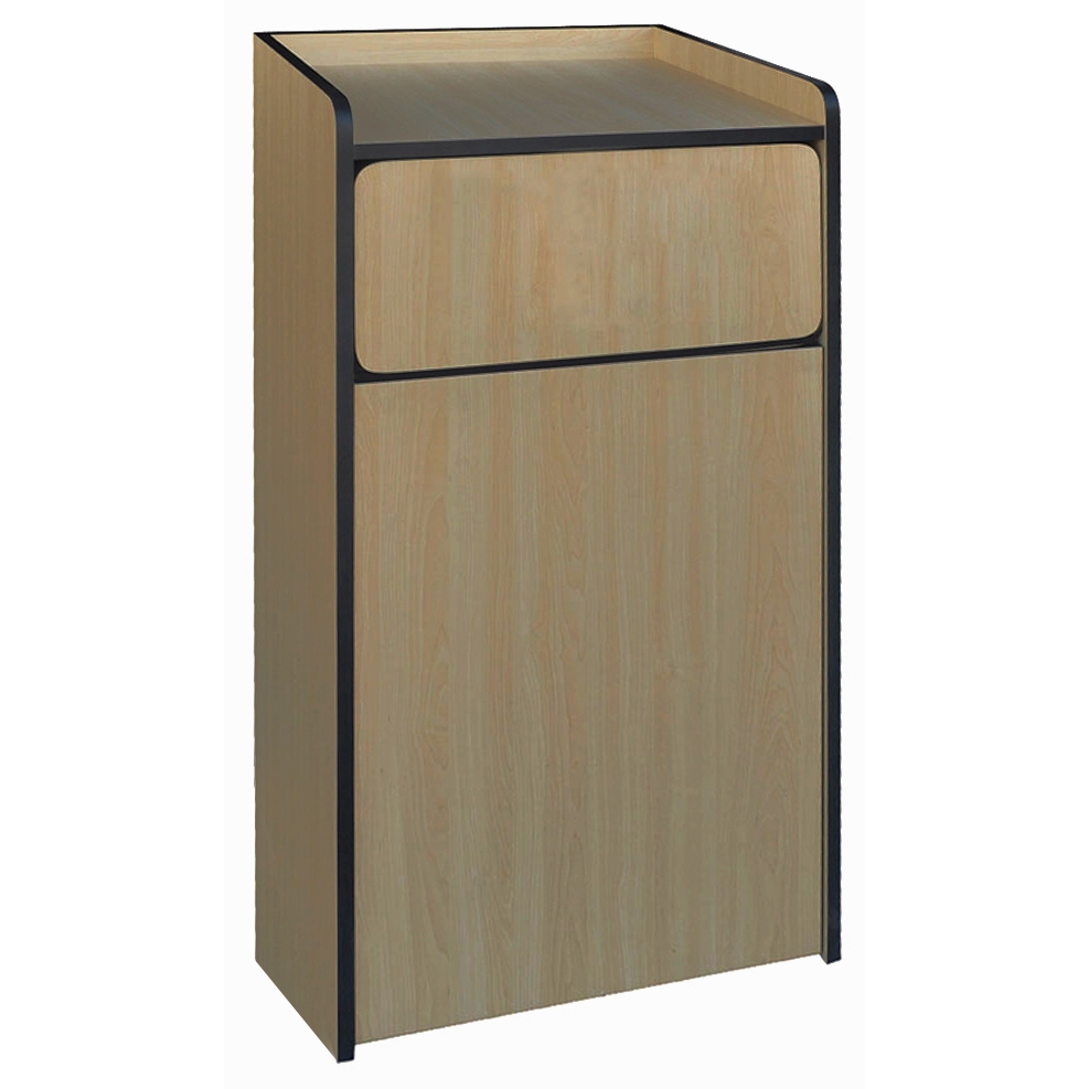 Winco WR-35 trash receptacle, indoor